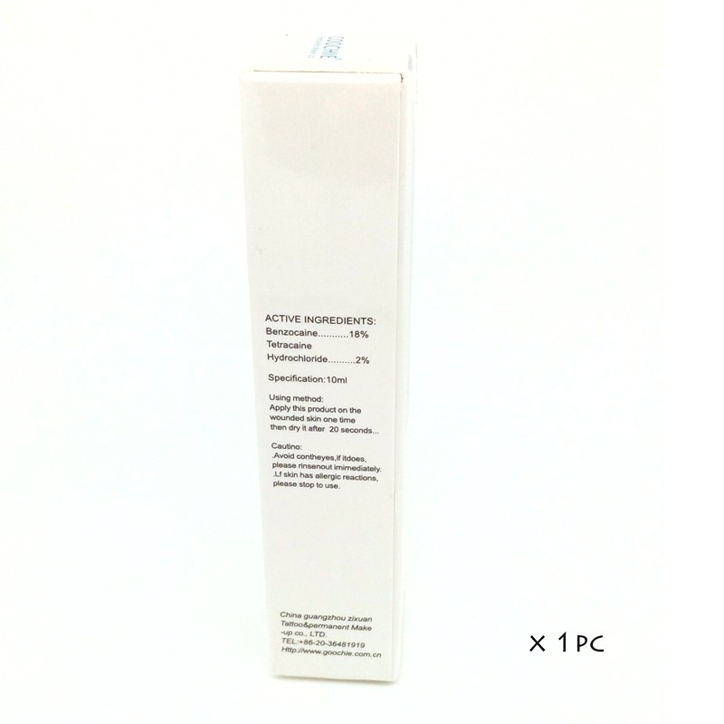 Eyebrow painless gel Permanent makeup pigment Tattoo ink for lip or eyebrow permanent makeup beauty 5