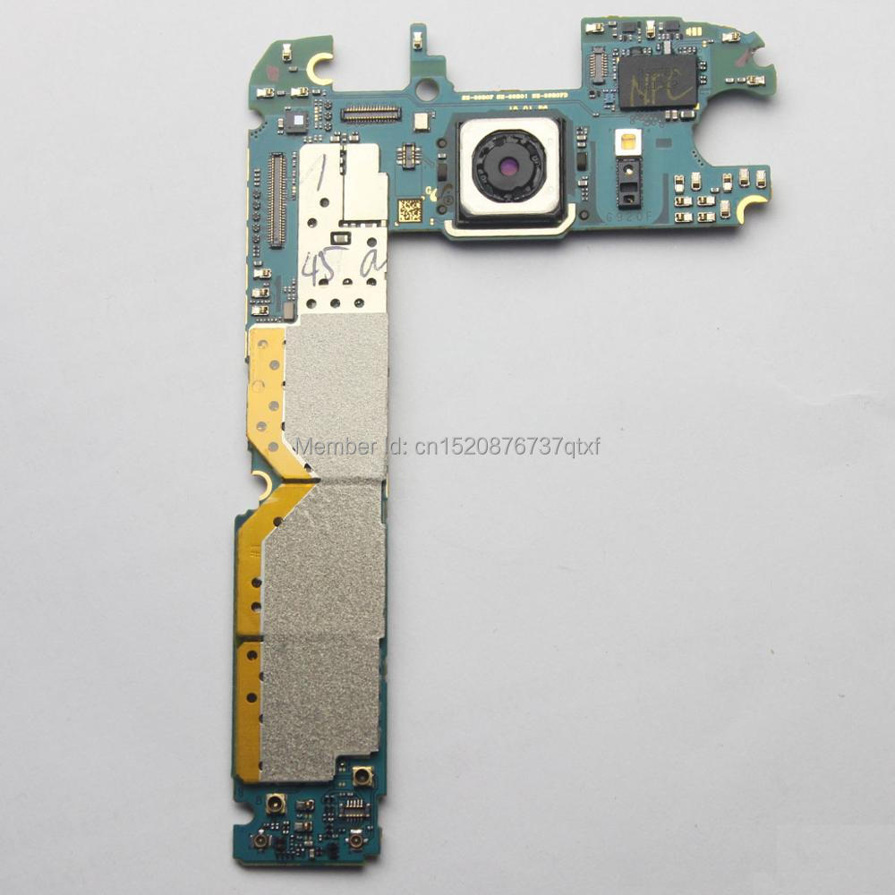 Main Motherboard Unlocked For Samsung GALAXY S6 G920i /G920F 32GB