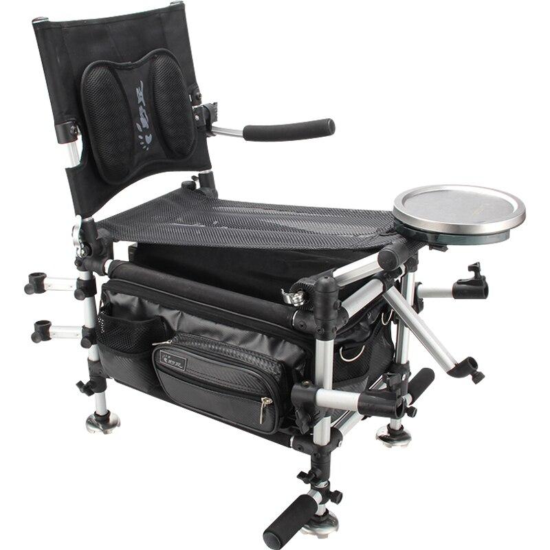 2018 Новый Рыбалка стулья Рыбалка Box два в одном многофункциональный складной и подъема Портативный стул для рыбалки плечи
