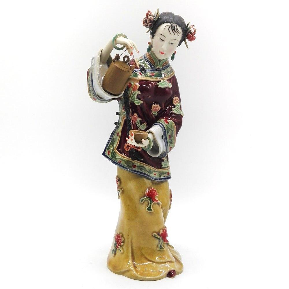 Fine Art Antique Porcelain Dolls Sculptures Collectible Angel Ceramic Figurines Vintage Female Statue Marvel Limited Decoration figurine