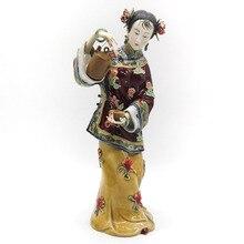 Fine Art Antique Porcelain Dolls Sculptures Collectible Angel Ceramic Figurines Vintage Female Statue Marvel Limited Decoration