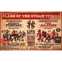 24x14 inch High Chất lượng tùy chỉnh in Board Games Playmat Clash of The hơi nước Titans spuf 69 2mm độ dày