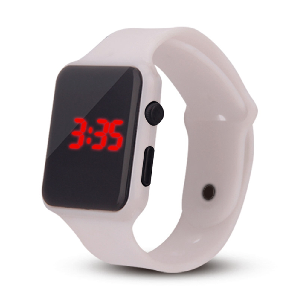 Watch Men And Women Watches Apple Style Watch New LED Couple Casual Fashion Watches New Design Waterproof Relogios Femininos