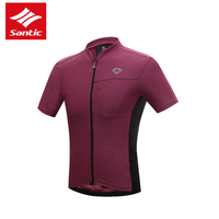 Santic Cycling Jersey 2016 Anti Sweat Breathable Short Sleeve Skinsuit Downhill DH MTB Road Bike Jersey