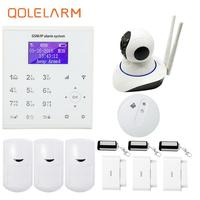 WiFi GSM Wireless For Home Shop Office House Sucerity Anti Theft Alarm System With Wireless Smoke