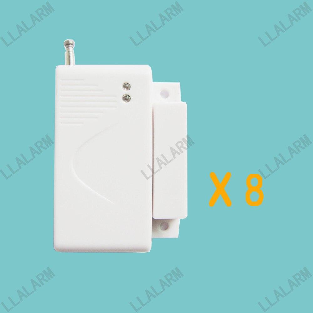 8pcs/lot~Wireless Door Window Sensor Magnetic Contact for ...