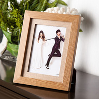 Modern Photo Wall Frame Wooden Creative Gift Photo Frame Foto Quadro Collection Set Picture Frame 7inch