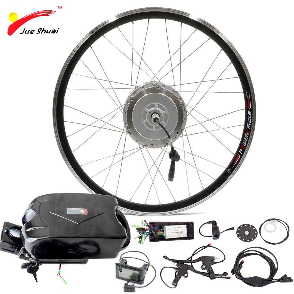 48v 250w 500w electric bike kit with battery for 20 26. Black Bedroom Furniture Sets. Home Design Ideas