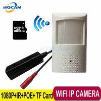 HQCAM POE 1080 P Wifi audio Nuit vision caméra HD Réseau Mini IP caméra 2MP P2P de Sécurité CCTV IP Cam POE IP caméra TF Carte Slot
