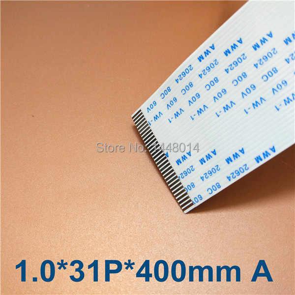 10 pcs/lot 31 pins 40 cm kepala datar kabel untuk Xuli Mutoh DX5 printhead eco pelarut printer Zhongye Aifa Alwin kabel data tahan lama