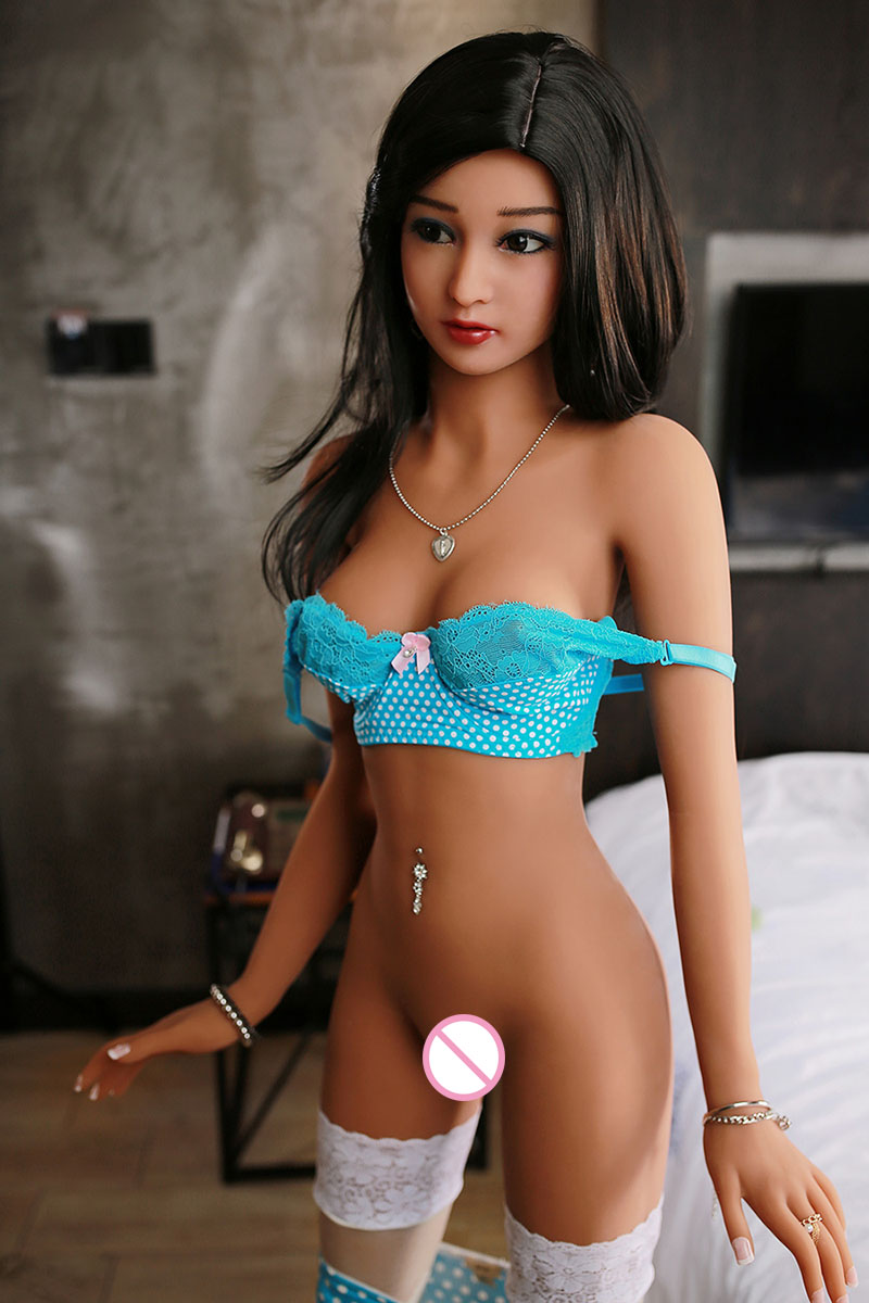 Top quality 157cm Japanese oral/anal real sex doll, 33kg full body size real solid silicone sex doll with metal skeleton