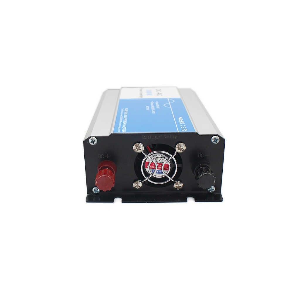Power 300W Input DC 12V 24V 48V To Output AC 110V 220V Pure Sine Wave off-grid Tie Inverter Custom Solar LED Display 12 220
