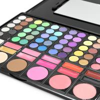 2017 Hot Sale Professional 78 Colors Makeup Beautiful Eyeshadow Palette Blush Eye Shadow Set