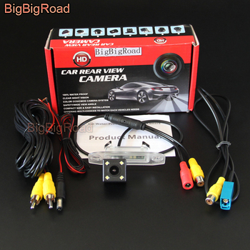 BigBigRoad Car CCD Rear View Camera For Volvo XC60 XC 60 2008 2009 2010 2011 2012 2013 2014 Reversing Parking camera image