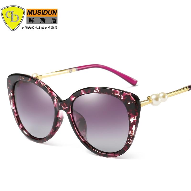 2018 new Women Polarized Sunglasses Female Sunglases Ladies Vintage - Kledingaccessoires