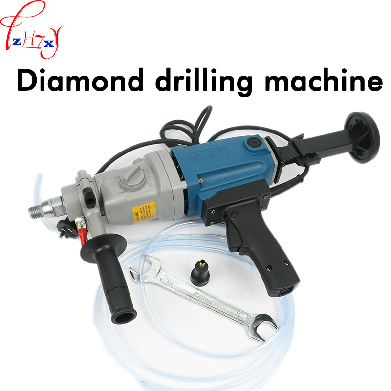 Hand Held Electric Diamond Drill 1800w Strong Motor Three