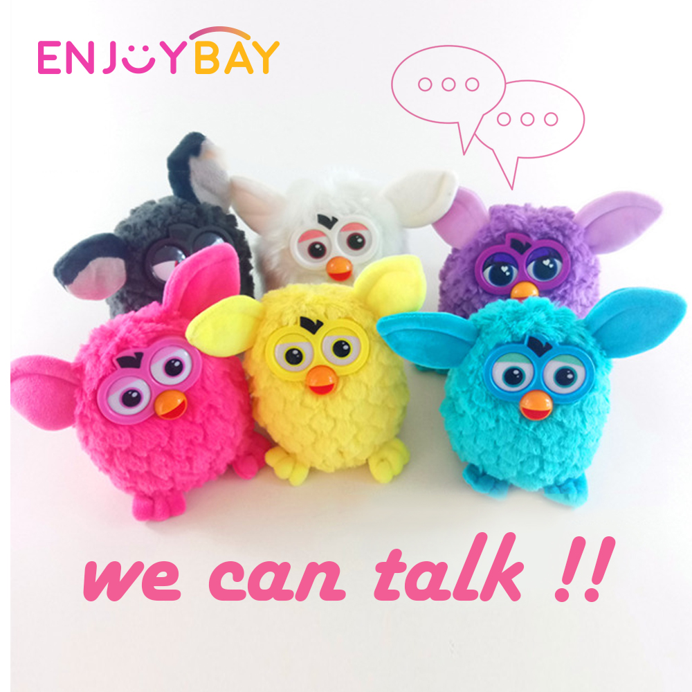 Enjoybay Phoebe Electronic Plush Toy Portable Talking Interactive Pets Cute Owl Elf Recording Toys Educational Gift For Children