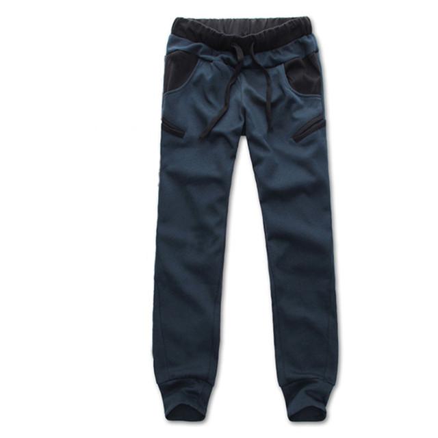 Estilo coreano Mens Boys Casual Pantalones de Chándal Basculador