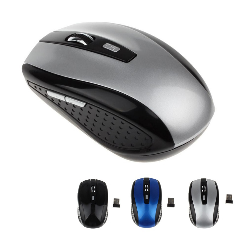 Portable 2.4G Wireless Optical Mouse Mice 1200DPI USB Receiver For PC Laptop Wireless Mouse Gaming Mice motospeed g118 usb 2 0 wireless 1200dpi