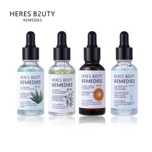 HERES B2UTY 30ml natural face serum Aloe Hyaluronic acid   Vitamin C vitamin E  tea Tree Acne whitening anti acne anti-wrinkle стоимость