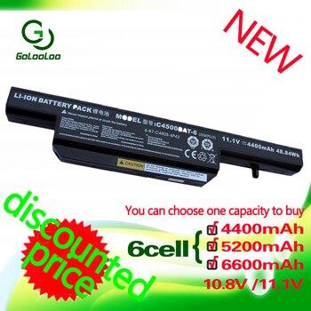 BEST DEAL] Golooloo 6 תאי סוללה עבור Clevo C4500BAT-6