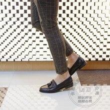 Designer Männer Schuhe Luxus Marke Faulenzer Brogue Westlichen Faule Schuhe Genäht Gradienten Leistung Abbürsten Fringe Solide Classics