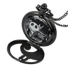 2019 Vintage Bronze Steampunk Pocket Fob Watches Chain Men Women Clock Roman Numerals Quartz Necklace Pocket Watch antique roman numbers steampunk skeleton quartz pocket watch men luxury necklace pocket