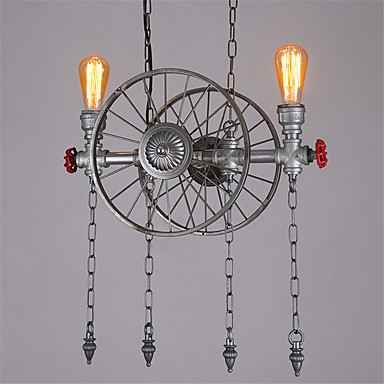 LED Retro Water Pipe Lamp Edison Pendant Light Fixtures Dinning Room Vintage Lights Style Loft Industrial Lighting Lampen retro loft style industrial vintage pendant lights hanging lamps edison pendant lamp for dinning room bar cafe