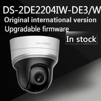 Free Shipping English Version DS 2DE2204IW DE3 W 2MP Mini WIFI PTZ CCTV Camera 2 8