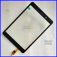 "Black New replacement Capacitive touch screen touch panel digitizer sensor For 8"" inch Tablet TRUST CT080SG318 3030-0800462"
