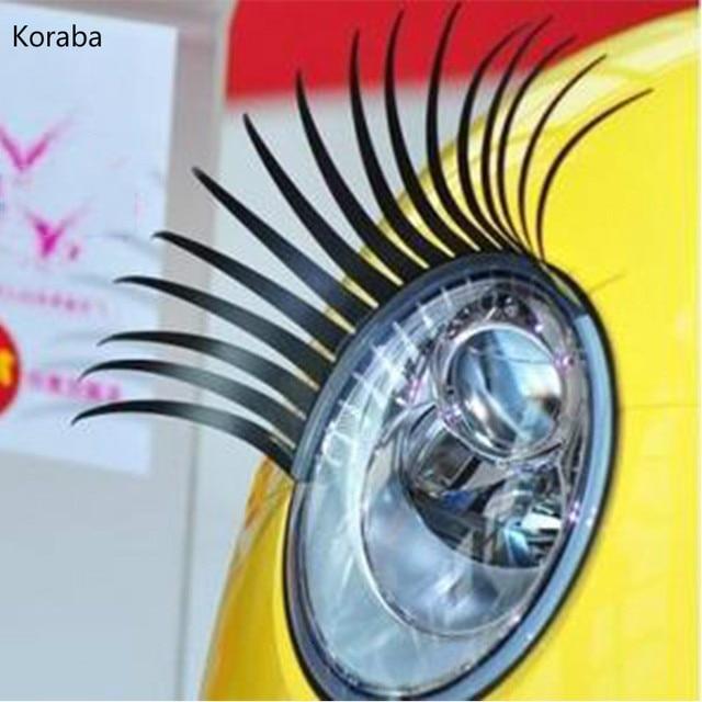 2 X Auto 3d Eyelash 3d Automotive Eyelashes Car Eye Lashes 3d Car