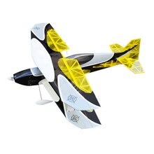 OUTLAW RC биплан 1,2 м PNP версия Электрический Самолет Легкий деревянный самолет с фиксированным крылом RC самолет 3D модель самолета