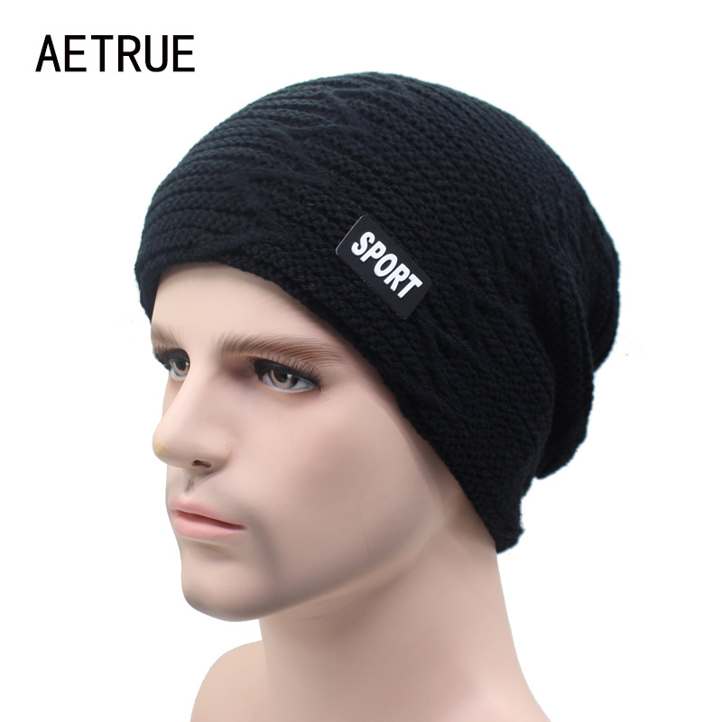 Winter Skullies Beanies Knit Hat Winter Hats For Men Women Brand Beanie Men Warm Baggy Caps Cheap Gorras Bonnet Fashion Cap Hat brand skullies winter hats for men bonnet beanies knitted winter hat caps beanie warm baggy cap gorros touca hat 2016 kc010
