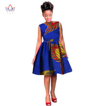 Dashikis Dress Dashiki 2018 Summer Vestidos Print Dress African Fashion  Ball Gown Custom Africa Dress for e08d04e9a255