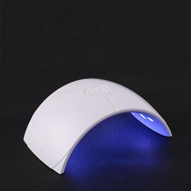 110V-220V 35w EU plug nail dryer led lamp light 180 degree nail polish uv cure machine for Gel Nail Art Lamp Dryer Tools 6