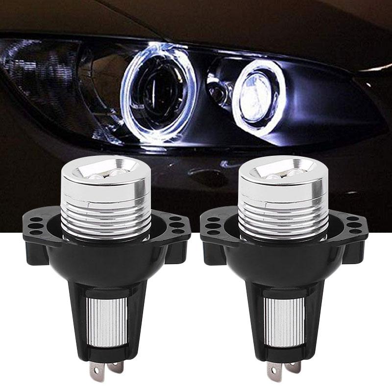 Задний фонарь 2 шт. ореол туман, светлый, машины, кольцевая лампа для фар глаза ангела очень яркий DRL для BMW E91