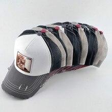 c7f2073a740 2018 Men Hip Hop Hat Breathable Mesh Baseball Caps Women Embroidery Panda  Snapback Caps Summer Gorras