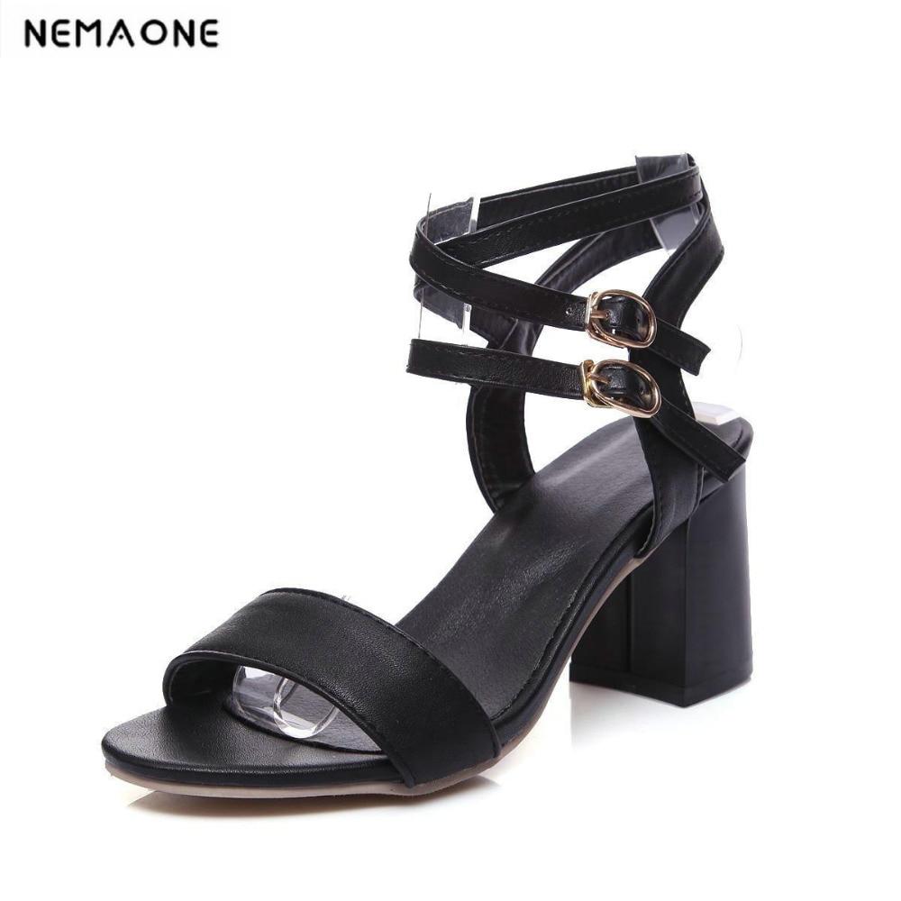 5b1e7fe1f2da49 Nouveau Sandales Cheville Femme Chaussures Double Superstar Hauts Talons  Talon Bride Noir 34 La À blanc ...