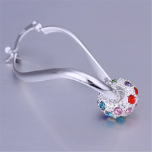 Silver Plated Fashion Charm Earrings Jewelry For Women