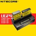 Original gopro hero4 ugp4 nitecore carregador de bateria 5 v carregador de bateria lcd para ahdbt-401 gopro hero4/3 + para ahdbt-201 ahdbt-301