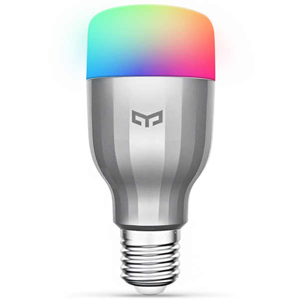 Yeelight YLDP02YL RGBW Smart LED Bulb WiFi Enabled 16 Million Colors CCT Adjustment Support Google Home east of the chesapeake