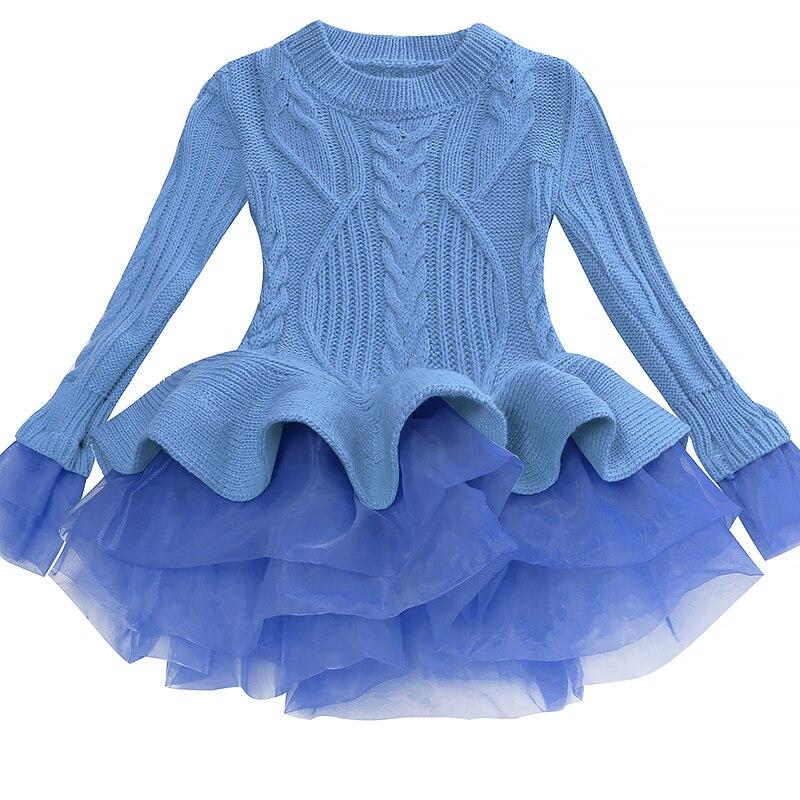 Mutter & Kinder Bibihou Mädchen Winter Kleid 2017 Mode Frühjahr Herbst Prinzessin Mädchen Langarm Pullover Tutu Kleid Kind Weihnachten Kleider Für Mädchen