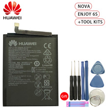 Hua Wei HB405979ECW Original Replacement Phone Battery For Huawei NOVA CAZ-AL10 CAZ-TL00 Enjoy 6S Honor 6C Li-ion 2920mAh +Tools аккумулятор для телефона craftmann hb405979ecw для huawei nova enjoy 6s honor 6c