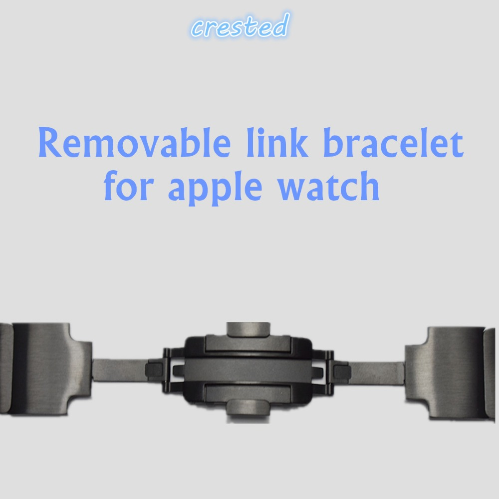 316L Link bracelet For Apple Watch band 42mm 38mm 3 2 1 stainless steel strap watchband removeable belt metal buckle for iwatch316L Link bracelet For Apple Watch band 42mm 38mm 3 2 1 stainless steel strap watchband removeable belt metal buckle for iwatch