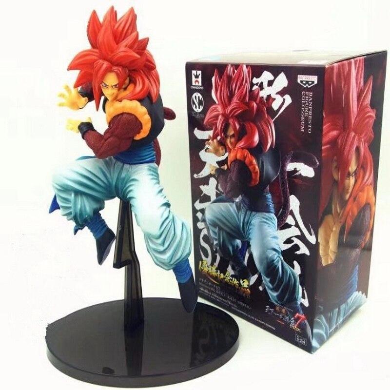 19cm caja de Figuarts Súper Saiyajin 3 hijo de Goku de acción | PVC figuras de acción colección de Dragon Ball Z modelo DBZ Esferas Del Dragón de juguete