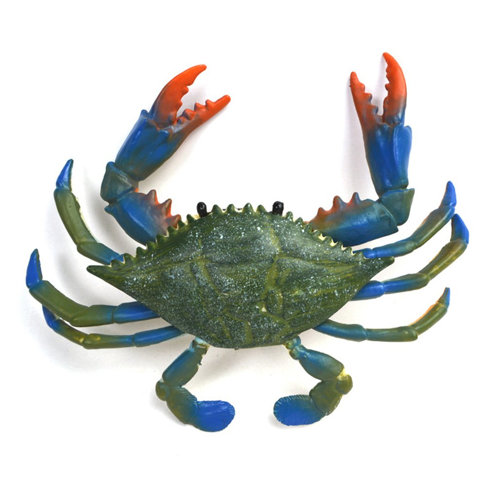 ChildrenS Simulation Solid Zoo Toy Model Marine Animal Crab Simulated