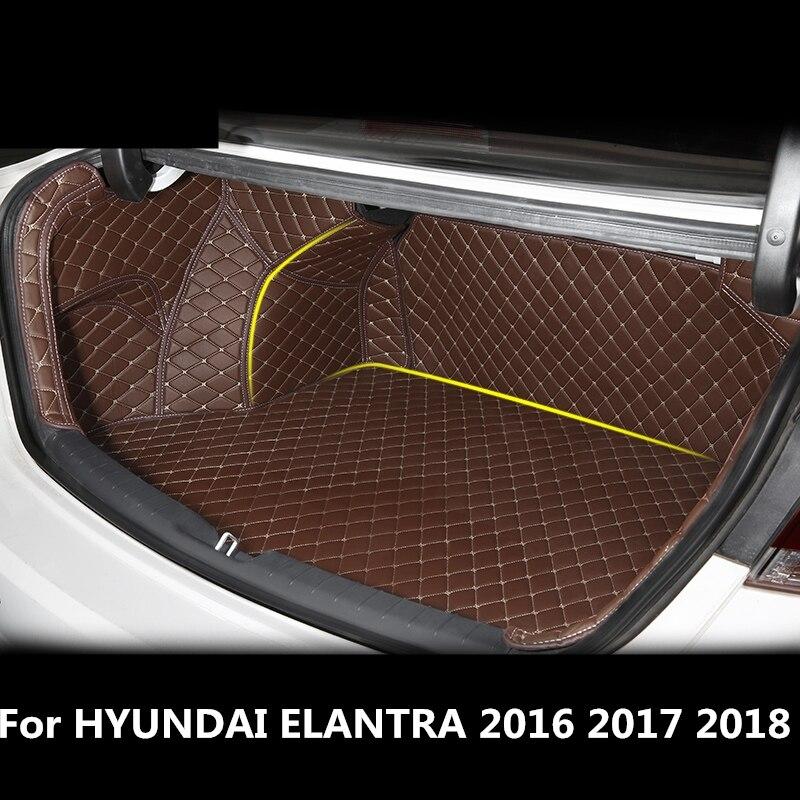 for hyundai elantra 2016 2017 2018 car all inclusive trunk. Black Bedroom Furniture Sets. Home Design Ideas