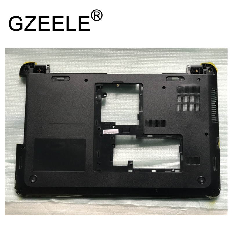 GZEELE new for HP for pavilion 15-d for compaq 250 G2 255 G2 series Bottom Base Case Cover 747112-001 lower case shell black цена