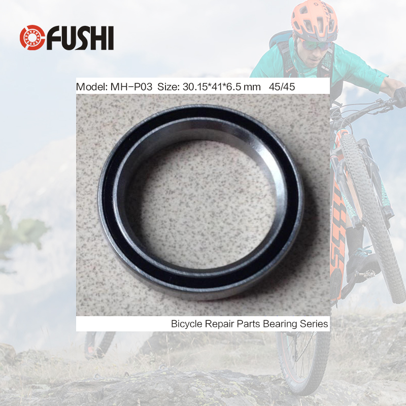 MH-P03 Bearing 30.15*41*6.5 mm 45/45 ( 1 PC ) Balls Bicycle 1-1/8 Inch Headset Repair Parts Ball Bearings катушка индуктивности mundorf m coil bv transformer core bt140 8 2 mh 1 40 mm