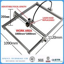 5500MW AS-3 big work area 100*100cm DIY laser mcahine, laser engraving machine,cnc laser machine , advanced toys , best gift
